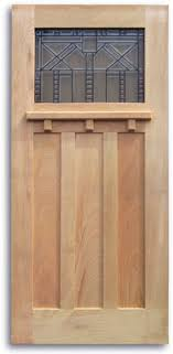 Slab Exterior Door Craftsman Style Oak Exterior Door 36 X 80 1 Toplite Slab