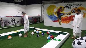 life size pool table snooker football awesome combination picture of kickoff