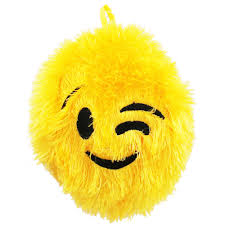 gardening emoji emoji fuzzy inflated ball outdoor toys at the works