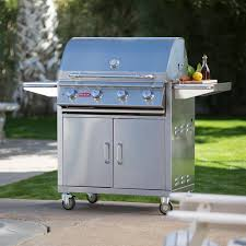 Bull Bbq Outdoor Kitchen Bull Angus 4 Burner Bbq Grill Cart Hayneedle