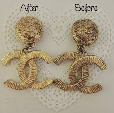 clip on earrings that don t hurt how to clean vintage chanel clip on earrings more than a beauty