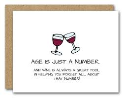 humorous birthday cards birthday card wine lover card instant friend