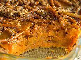 sweet potato thanksgiving dish salted caramel pretzel sweet potato casserole u2013 12 tomatoes