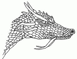 simple dragon head drawings images u0026 pictures becuo coloring