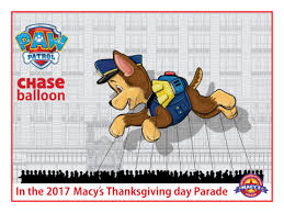 paw patrol s macy s thanksgiving day parade wiki fandom