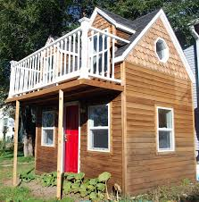 2 story cape cod custom built playhouse childrens outdoor backyard