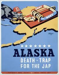 Alaska Flag Meaning Patriotic Poster From World War Ii Alaska Death Trap For The