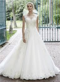 s wedding dress line illusion neckline see through back lace sparkly wedding dress