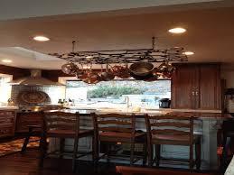 kitchen island pot rack pot rack above kitchen island 28 images breathtaking kitchen