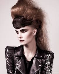 show me rockstar hair cuts 10 unique punk hairstyles for girls in 2018 bestpickr