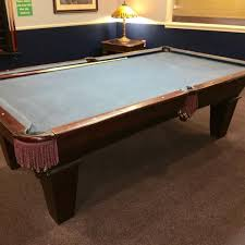 3 piece slate pool table price find more connelly pool table 8 and 3 piece slate light blue felt
