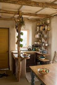 Small Kitchen Design Pictures Cozy Cabin Kitchen Love The Gray Cabinets Against All The Wood