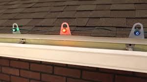 Shingle Tab Light Clips For C7 Or C9 Christmas Light Bulbs Youtube
