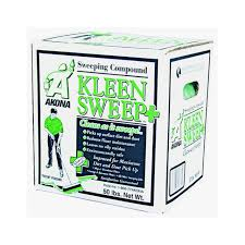 amazon com kleen 1815 kleen sweep plus sweeping compound box of