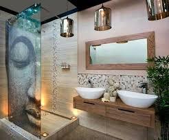bder ideen badezimmer ohne fliesen modern holz wand idee spiegel lang für