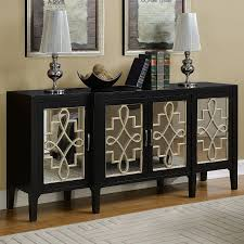 furniture mirrored dining room buffet mirrored console cabinet