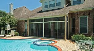 Backyard Screen House by Screen Room U0026 Screened In Porch Designs U0026 Pictures Patio Enclosures