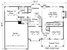 4 bedroom open floor plans inverness house floor plan frank betz associates