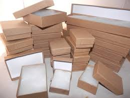 assorted gift boxes gift boxes 100 assorted size kraft cotton filled