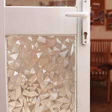 glass door film privacy 200cm polygon shape opaque static glass window film privacy