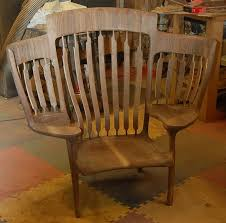 Let Me Be Your Rocking Chair Dad Builds Triple Rocking Chair So He Could Read To His 3 Kids