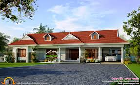 2300 Sq Ft House Plans Single Floor House Plan And Elevation 1390 Sq Ft Kerala Home 44