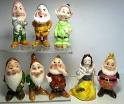 snow white and seven dwarfs figure set enesco from our other