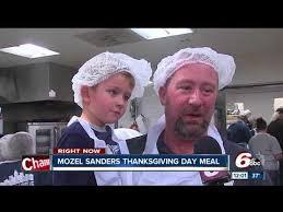 mozel sanders thanksgiving day meal