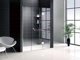 custom front only frameless shower screen 1401 1600mm bella vista