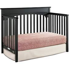 Convertible 4 In 1 Cribs Graco 4 In 1 Convertible Crib Pebble Gray Ebay