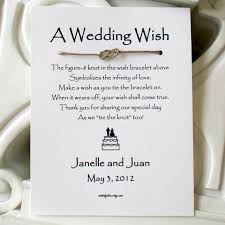 The Knot Favors by Infinity Knot Wish Bracelet Wedding Favor Our Wedding 3