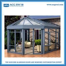 aluminum villa sunroom and winter garden glass sunshine sun room