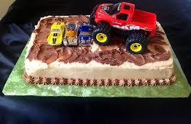 easy truck birthday cakes