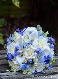 wedding flowers near me wedding flowers madeleine s pretty blue and white