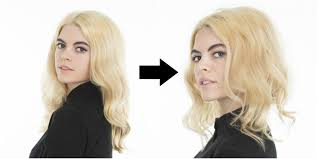 fgrowing hair from pixie to bob how to make hair look shorter without cutting it faux bob tutorial