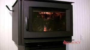 regency f5100 extra large hybrid wood stove youtube