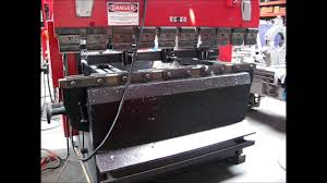 amada rg 50 up acting hydraulic cnc press brake under power