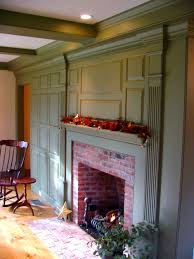 Colonial Saltbox Classic Colonial Homes Interior Fireplace Paneling Primitive