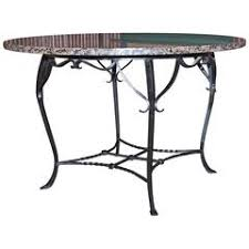 wrought iron dining room tables 68 for sale at 1stdibs