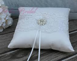 wedding ring pillow ring bearer pillows etsy