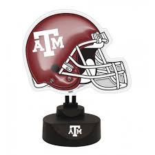 texas a m desk accessories texas a m aggies neon desk l sports merchandise memorycompany com