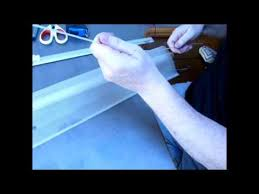 How To Get Rid Of Blind Mosquitoes How To Replace Flyscreen Material On A Blind In A Motorhome
