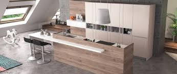 cuisine comtemporaine cuisine contemporaine zaho alicante décor bois haut de gamme sur