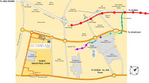 Dubai Metro Map by Affordable Real Estate Developers In Dubai Sasd Group