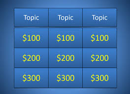 jeopardy powerpoint template 6 categories casseh info