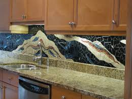 furniture best creative glass tile backsplash ideas with dark