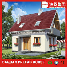 daquan economic prefabricated steel framed house for photo with