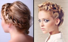 hairstyles updos with braids for prom 2017