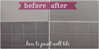 Cleaning Painted Walls by Painting Tile Walls In Bathroom Khabars Net