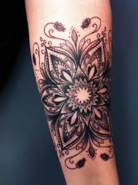 tribal flower tattoo 35 img pic rohit48